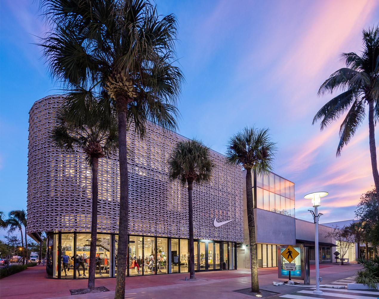 迈阿密的耐克旗舰店项目UHPC亚搏app下载官方网站