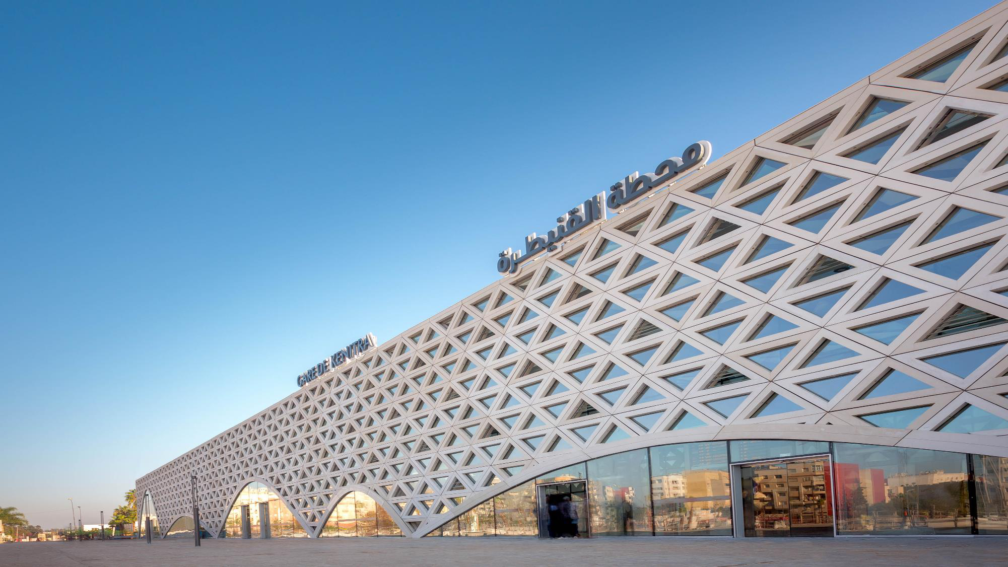 摩洛哥的盖尼特拉火车站 uhpc亚搏app下载官方网站