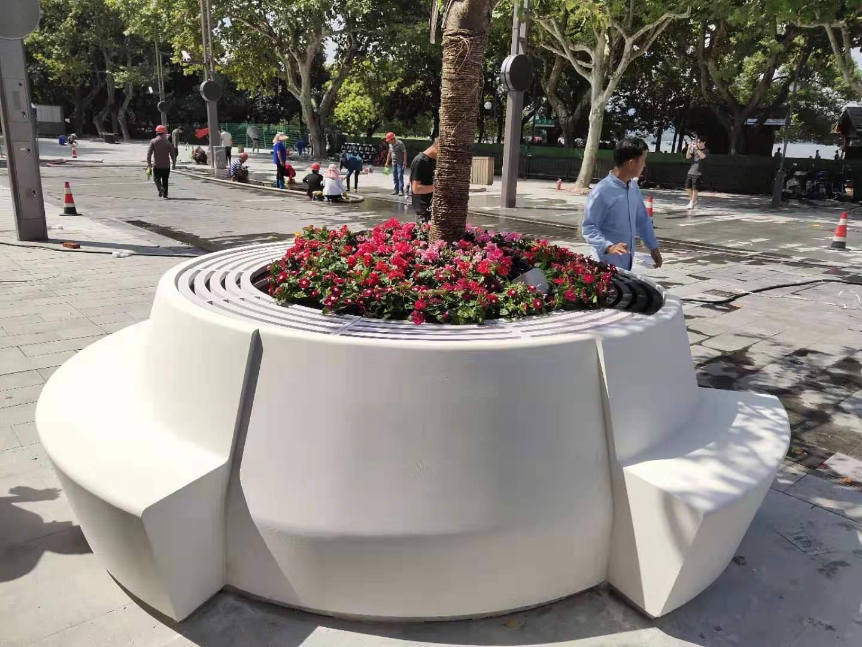 杭州西湖国际步行街四季座椅