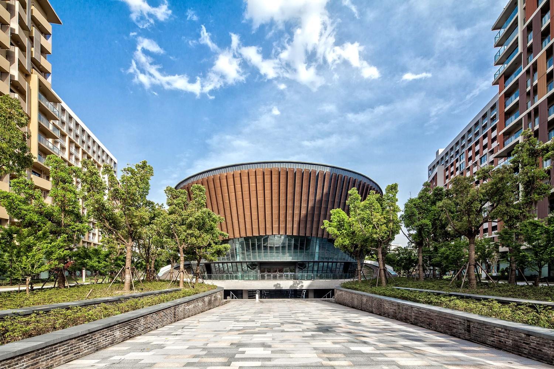 上海科技大学新校区-体育馆