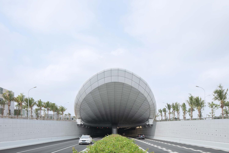 海口文明东隧道光过渡设计