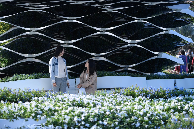 深圳浪花园装置 大小景观